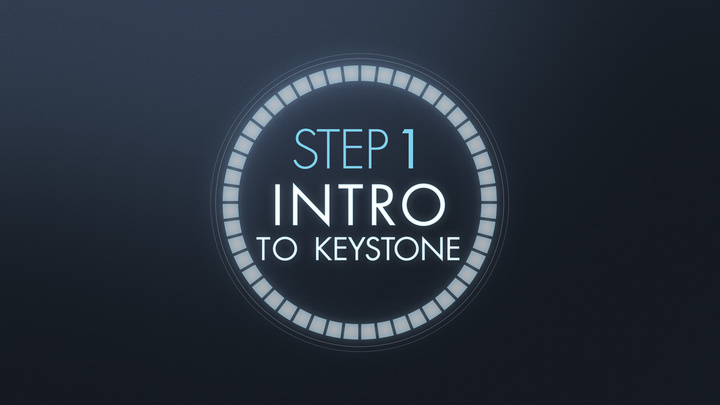Step 1: Intro to Keystone (5/17/20) 5:15pm Session logo image