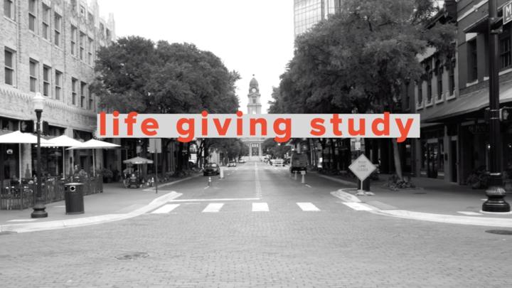 Life Giving Study  logo image