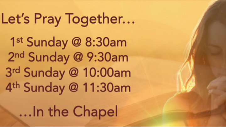 Weekly Prayer Gatherings logo image