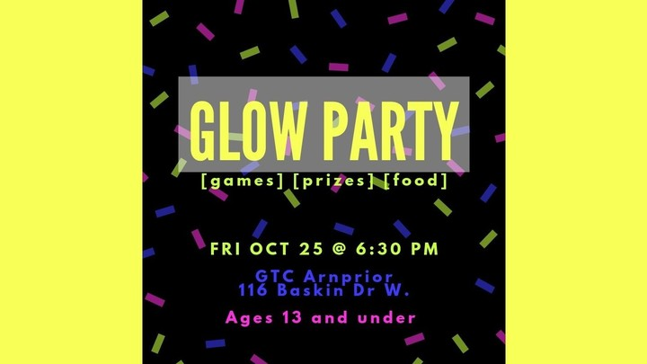 GLOW Party  logo image