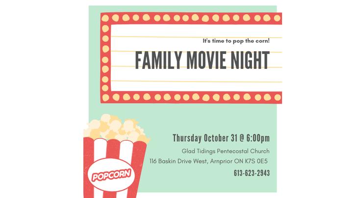 Family Movie Night  logo image