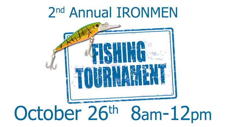 Discovery IronMen 2019 Fishing Tournament  logo image
