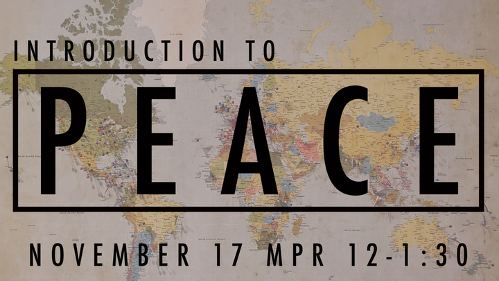 Intro To PEACE logo image