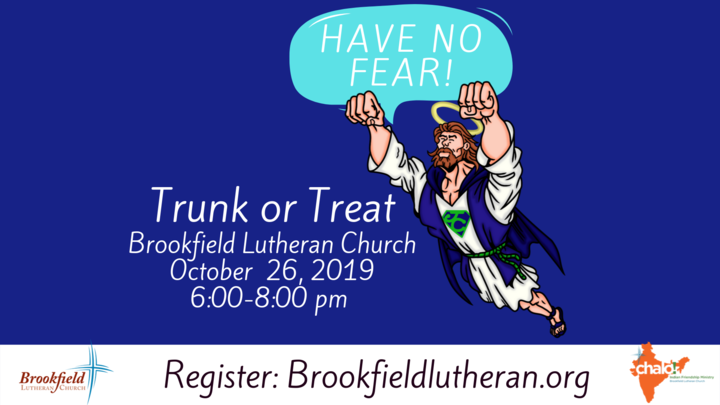 Have No Fear!  Trunk or Treat 2019! logo image