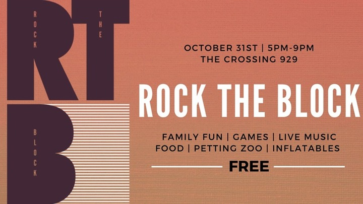 Rock The Block 2019 logo image