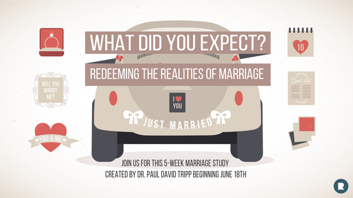 What Did You Expect?  Redeeming the Realities of Marriage logo image