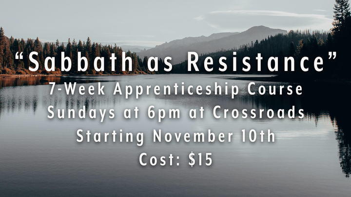 Sabbath as Resistance - Apprenticeship Course logo image
