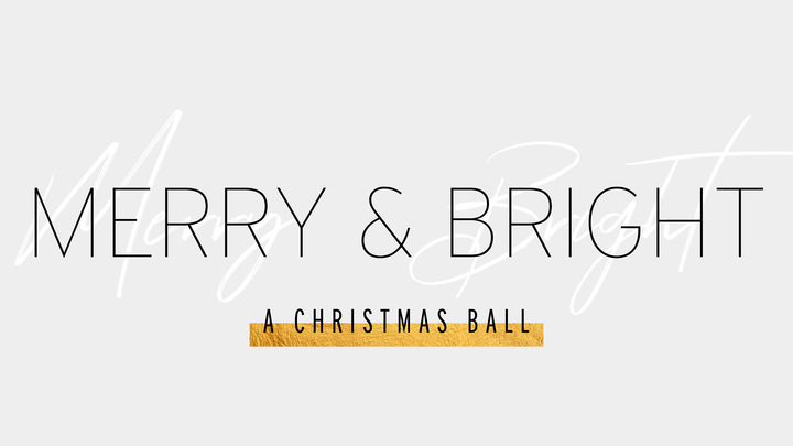 Merry & Bright - A Christmas Ball logo image