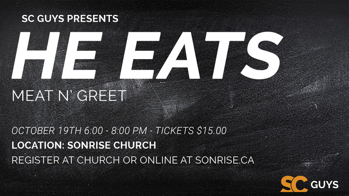 SC Guys Meat'n'Greet - He Eats logo image