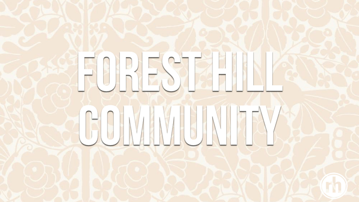 The Forest Hill Community logo image