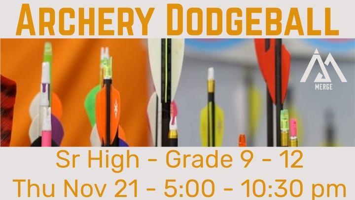 Archery/Dodgeball logo image