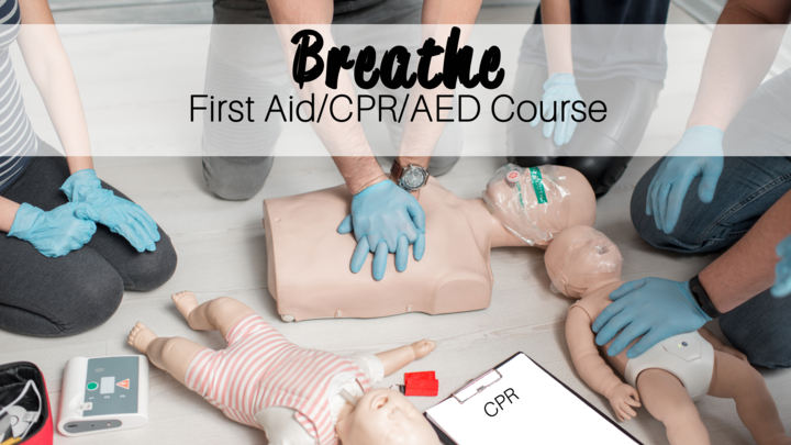 Breathe: First Aid/CPR/AED Course logo image