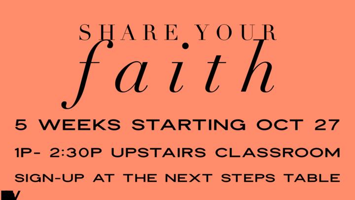 Share Your Faith logo image