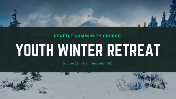 2019 Youth Winter Retreat logo image