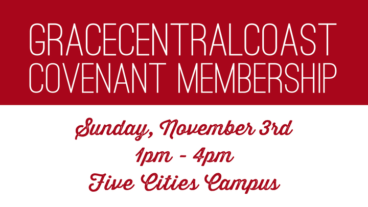 Covenant Membership Class - Five Cities Campus logo image