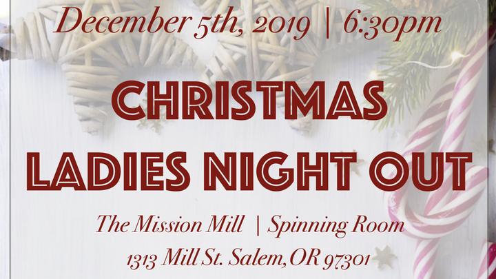 Christmas Ladies Night Out logo image