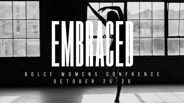 Embraced - BoLCF Women's Conference logo image