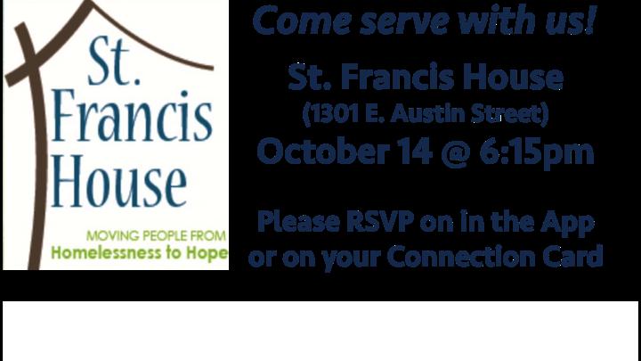 Serve @ St. Francis House logo image