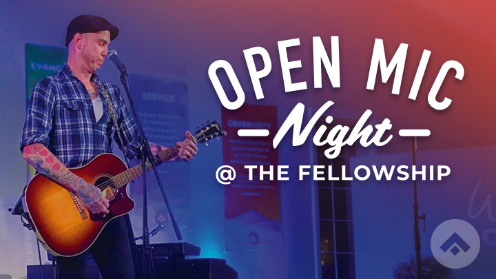 Open Mic Night at The Fellowship logo image