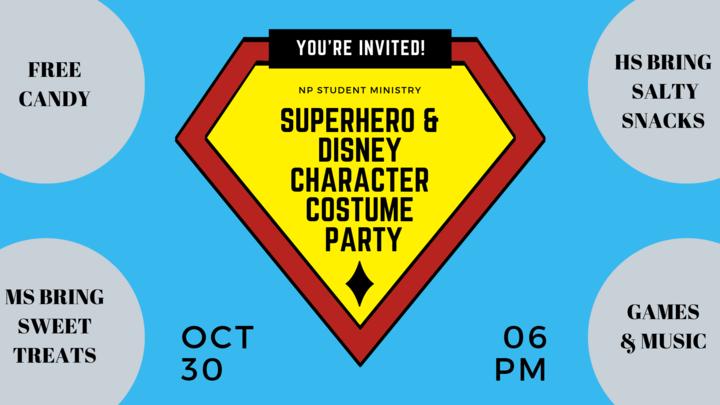 Journey Costume Party logo image