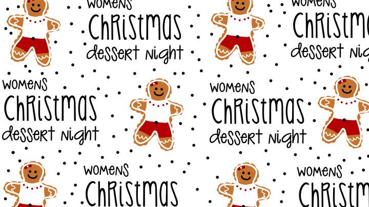 Womens Christmas Dessert Night logo image