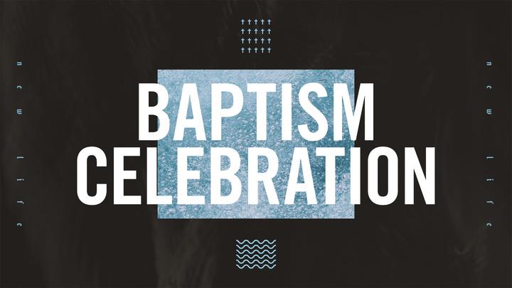 Baptism Celebration Sunday logo image