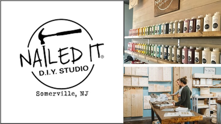 "Ladies' trip to ""Nailed-It d.i.y. studio"" in Somerville -Bridgewater Campus logo image"