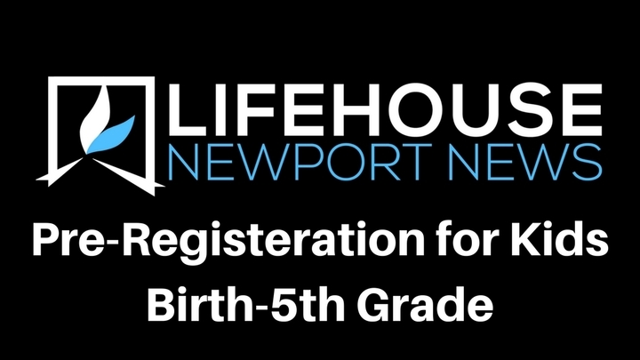 Pre-Register Kids Birth to 5th Grade logo image