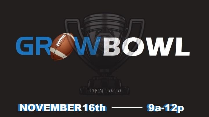 Grow Bowl (Flag Football Tournament) logo image