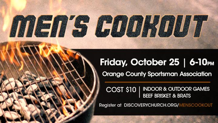 Men's Cookout | Southwest Campus logo image