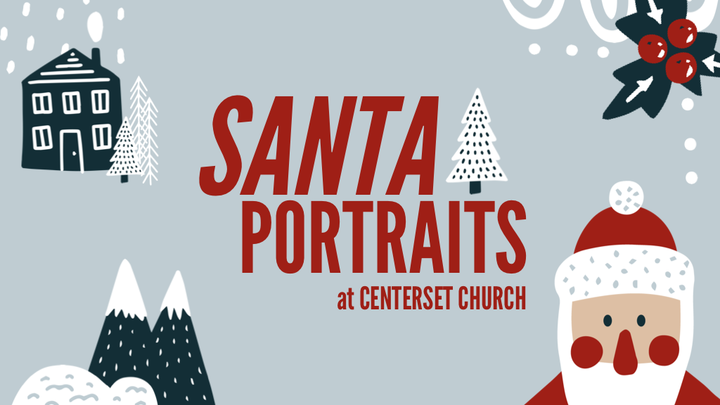 Photos with Santa at CenterSet Church logo image