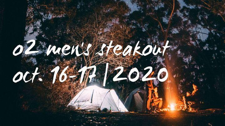 O2 Men's Steakout 2020 logo image