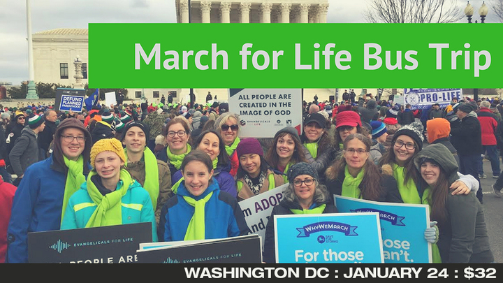 March for Life Covenant Fellowship Bus Trip  logo image