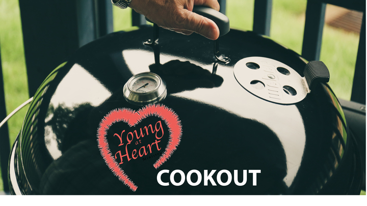 Young At Heart Cookout logo image