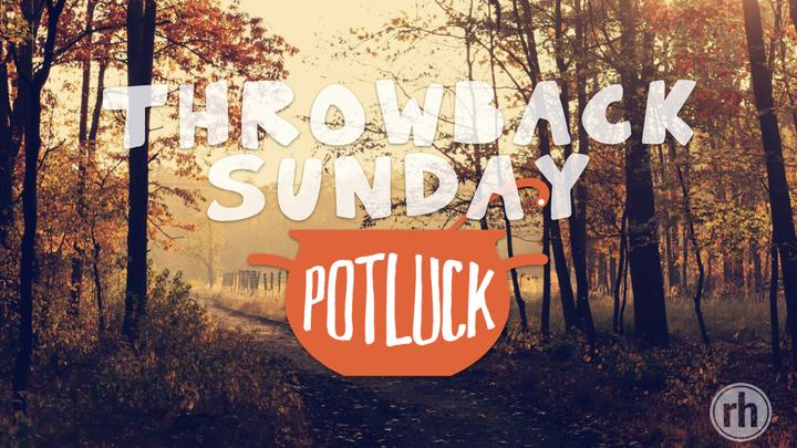 Throwback Sunday Potluck logo image