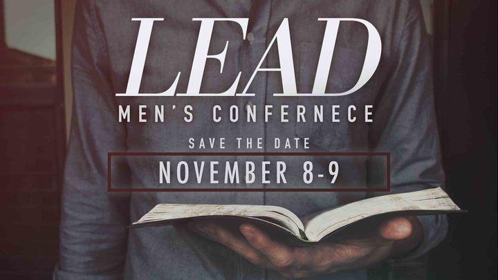 LEAD Men's Conference 2019 logo image
