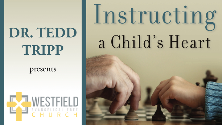 "Dr. Tedd Tripp Parenting Conference: ""Instructing A Child's Heart"" logo image"