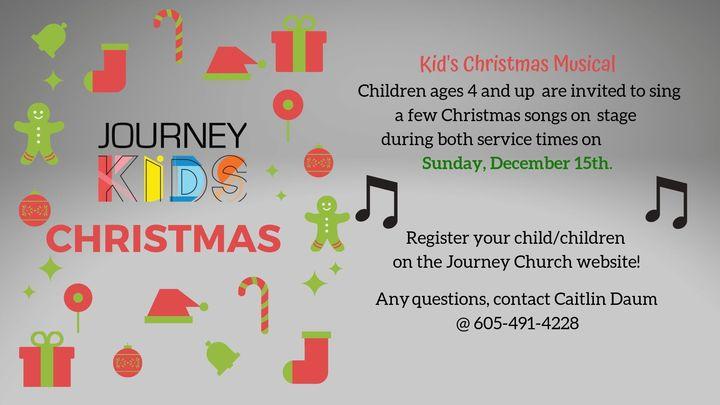 Kids Christmas Performance logo image
