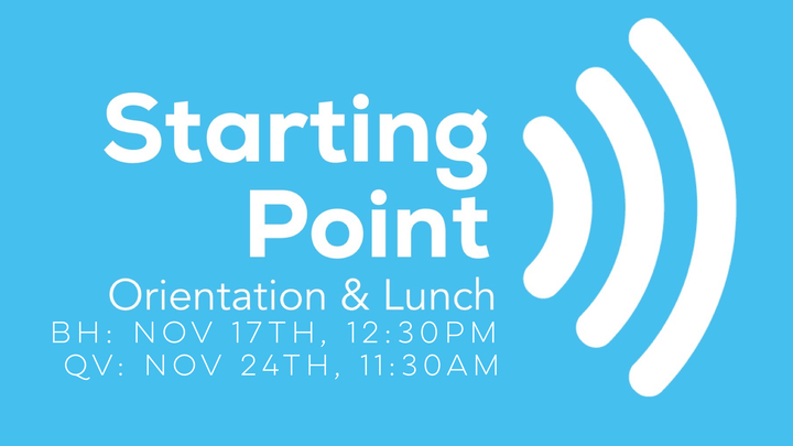 Starting Point Orientation and Lunch  logo image