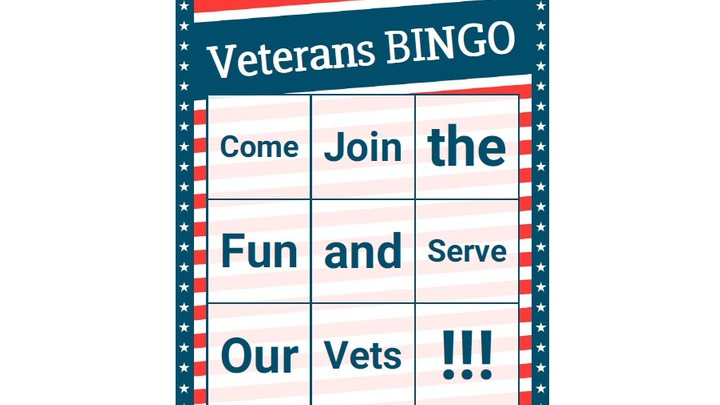 Veterans Bingo - November 16, 2019 logo image