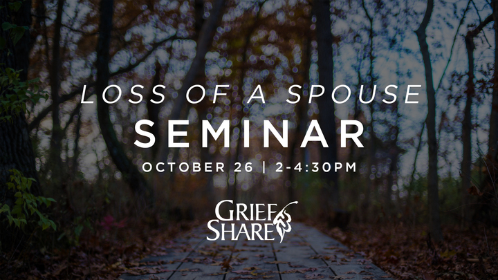 Loss of a Spouse  Seminar- GriefShare logo image