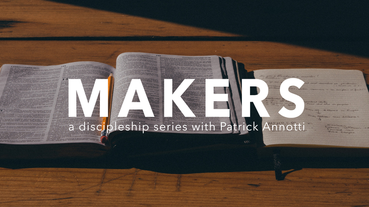 MAKERS Discipleship Series for Men logo image