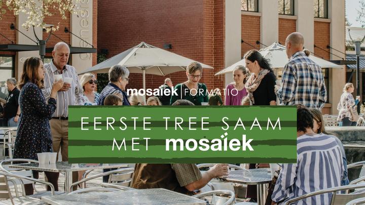 Eerste Tree Saam met Mosaiek logo image