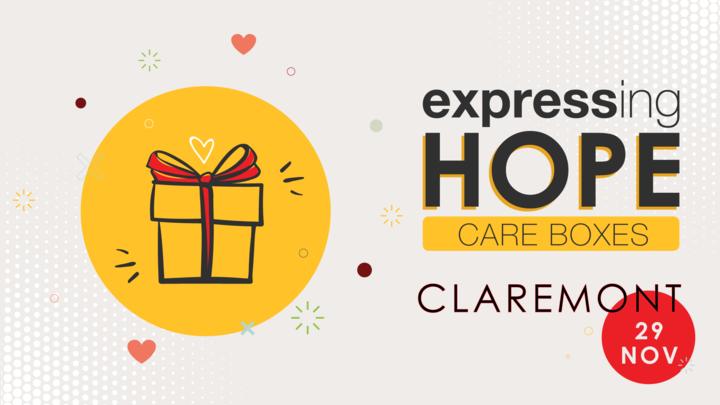 CLAREMONT Expressing Hope Care Box logo image
