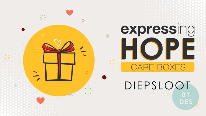 DIEPSLOOT Expressing Hope Care Box logo image