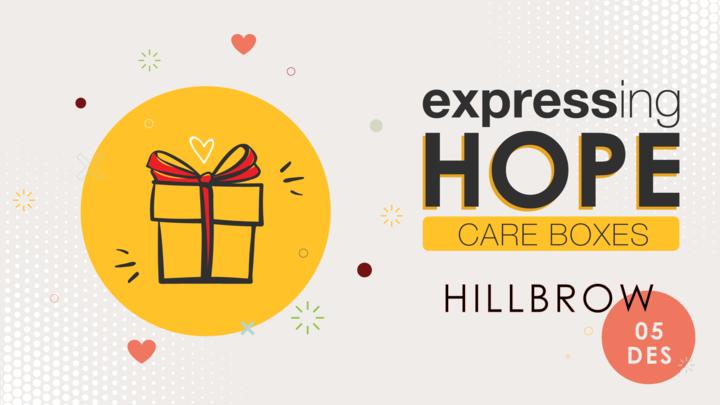 HILLBROW Expressing Hope Care Box logo image