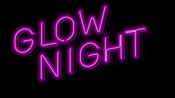 Student Ministries Glow Night logo image