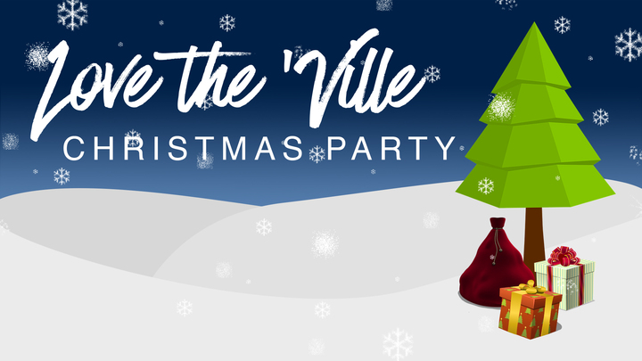 Love the 'Ville Christmas Party 2019 logo image