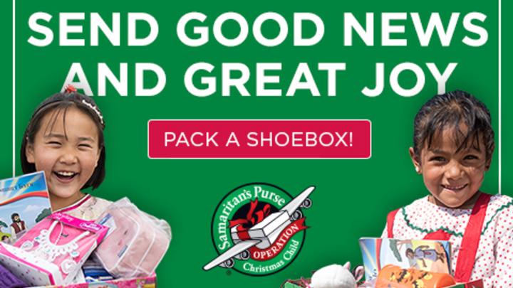Operation Christmas Child Shoebox Collection logo image