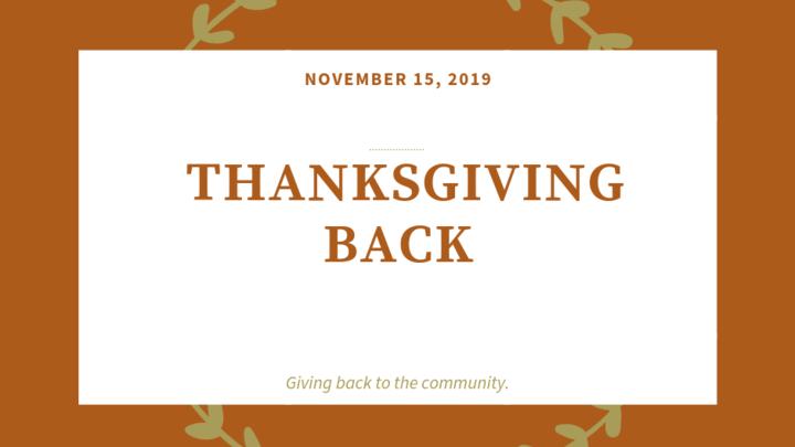 Thanksgiving Back logo image